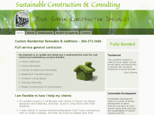 Sustainable Construction & Consulting